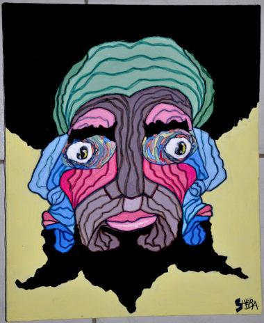 Shéba - Visages #3 - 50x40cm - 2011