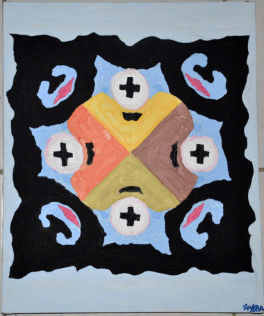 Shéba - Visages #4 - 50x70cm - 2011