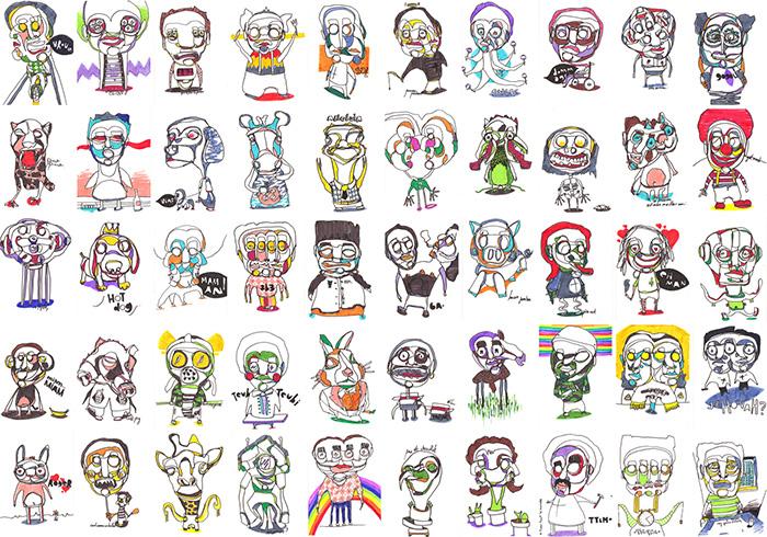 50-dessins