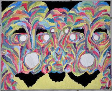 Shéba - Visages #6 - 50x40cm - 2012