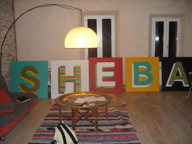 Shéba - S.H.E.B.A - 5x(100x100cm) - 2013