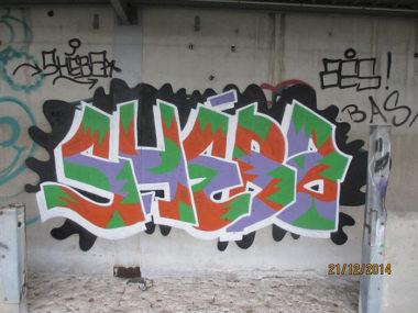 Shéba - Graffiti shéba - 200x120cm - 2014