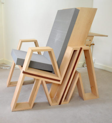 Shéba - Fauteuil M - 100x60x100cm - 2018