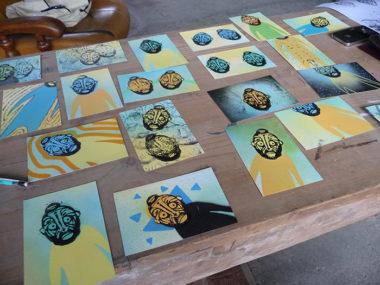 Shéba - Cartes postales (tampons) - 20x (10x15cm) - 2016