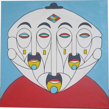 Shéba - Psycho #3 - 80x80cm - 2014