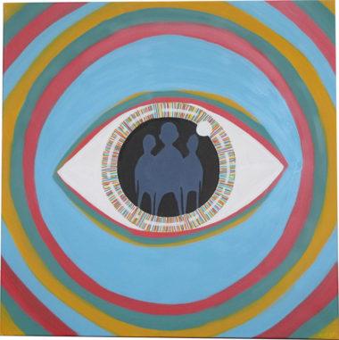 Shéba - Psycho #4 - 80x80cm - 2014