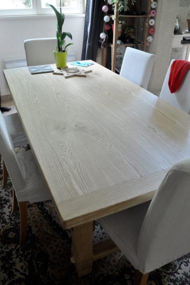 Shéba - Restauration Table à Manger Placage Ormeau - 184x90x74cm - 2018