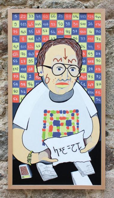 Shéba - Maths - Série 12 - 123 x 63 cm - 2018