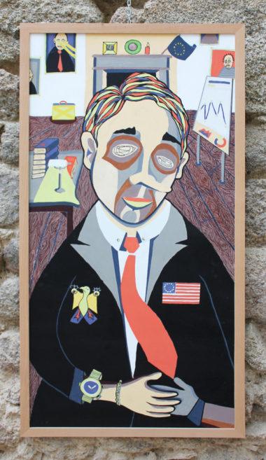 Shéba - Politique - Série 12 - 123 x 63 cm - 2018