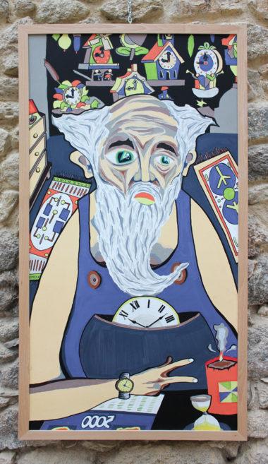 Shéba - Temps - Série 12 - 123 x 63 cm - 2018