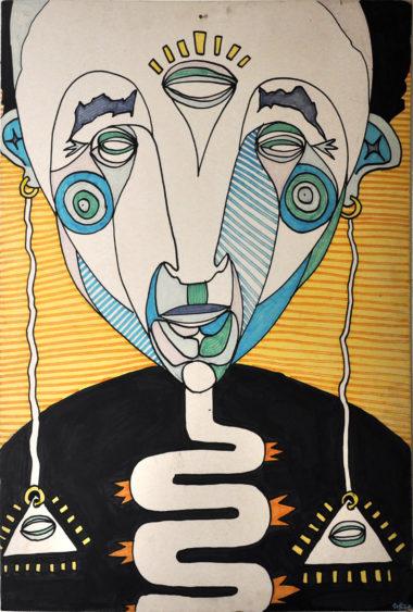 Shéba - Illuminati - 120 x 80 cm - 2015