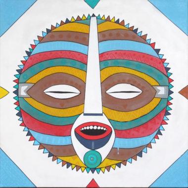 Shéba - Psycho #2 - 80x80cm - 2014