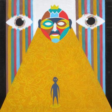 Shéba - Psycho #6 - 80x80cm - 2014